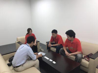 中日新聞北陸本社にて取材対応させていただきました!(^^)