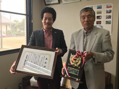 金沢市西南部公民館へ受賞報告をさせていただきました。(*^▽^*)