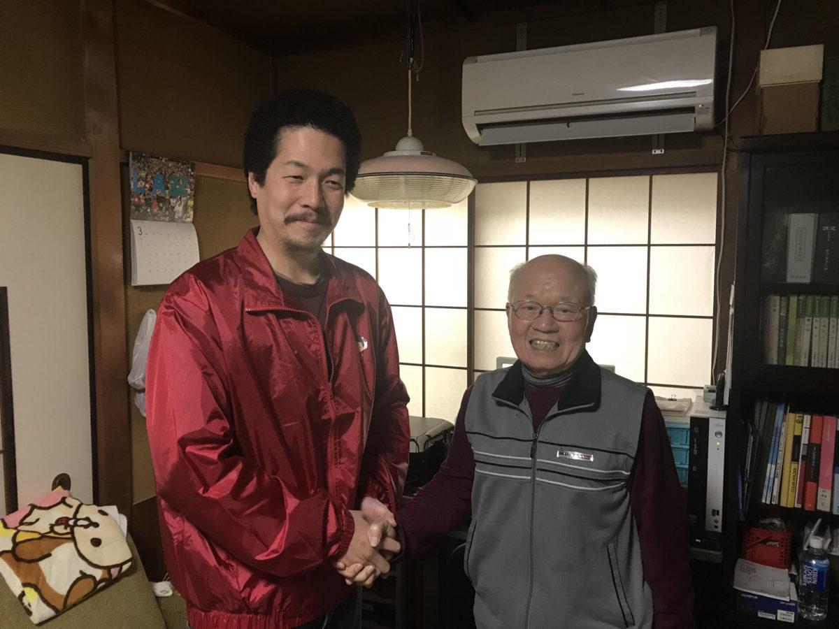 犀川河川敷愛護会の代表と会合しました(^^)