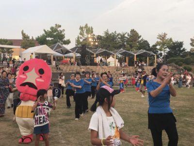 サマーフェスティバルHAKUSAN2018に参加しました!(*^◯^*)