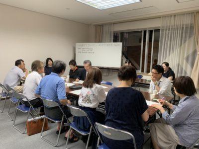 「協働と交流のつどい2019」第1回実行委員会に出席しました(^^)