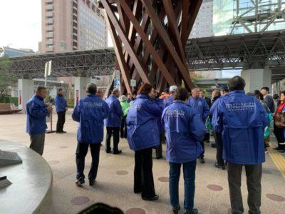 金沢駅周辺おもてなしキャンペーンに参加しました。
